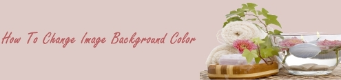 How To Change Image Background Color