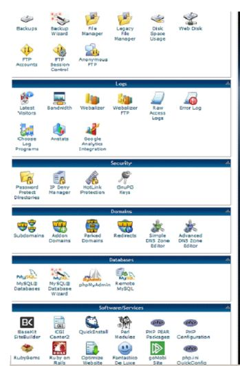 Hostgator cPanel example