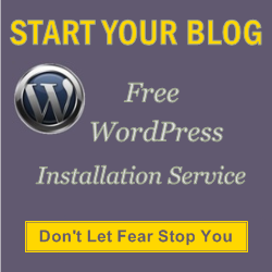 Free WordPress Installation & Setup Service